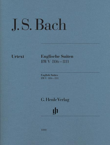 J.S. Bach: English Suites BWV 806-811