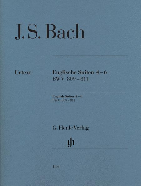 J.S. Bach: English Suites 4-6, BWV 809-811