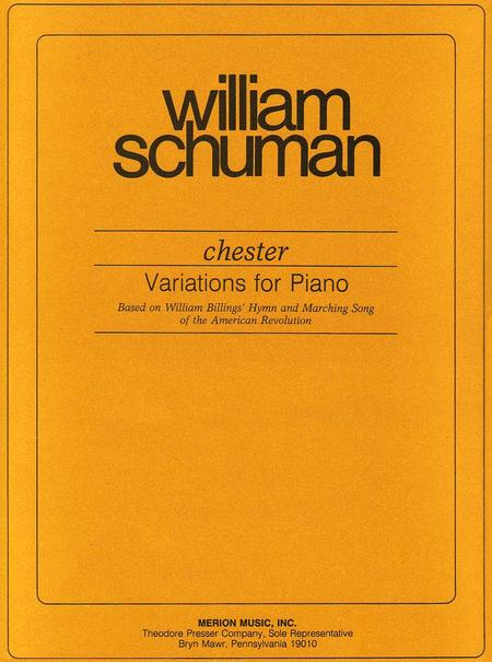 Chester Variations For Piano