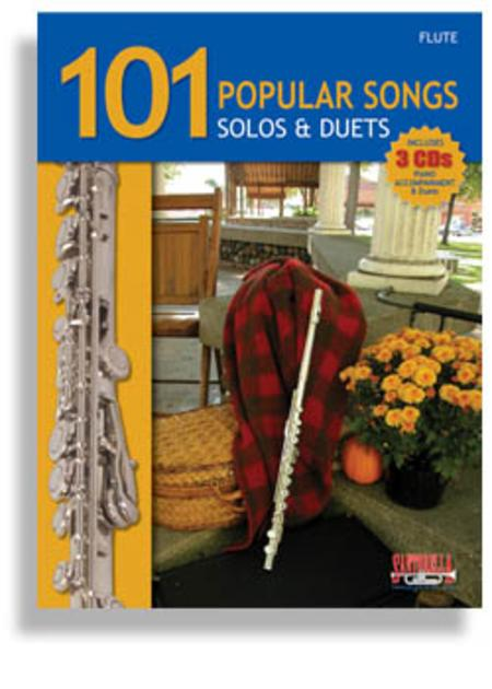 101 Popular Songs for Flute * Solos & Duets * with 3 CDs