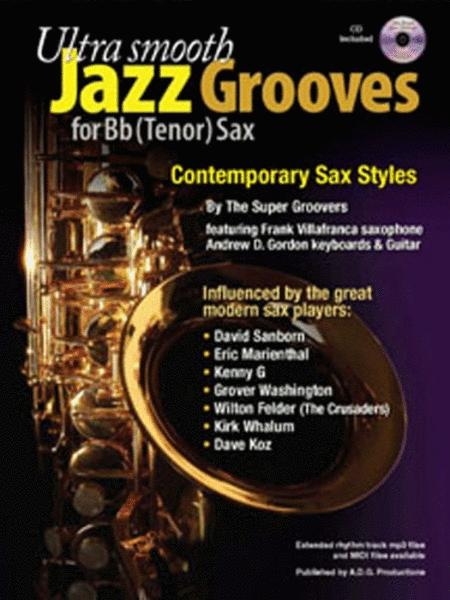 Ultra SMOOTH Jazz Grooves for Guitar Music Book /& CD