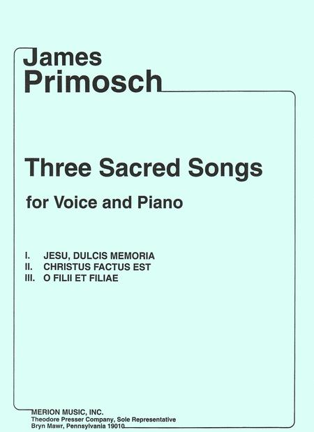 Three Sacred Songs
