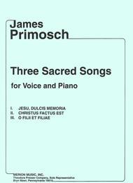 Three Sacred Songs