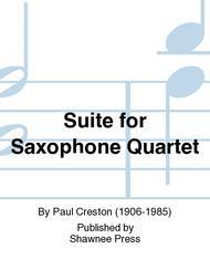 Suite for Saxophone Quartet