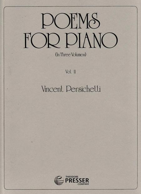 Poems for Piano, Vol. 2