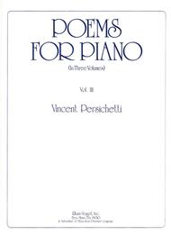 Poems For Piano