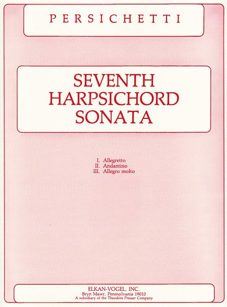 Seventh Harpsichord Sonata