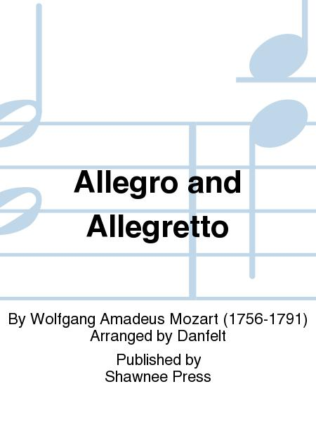 Allegro and Allegretto