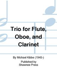 Trio for Flute, Oboe, and Clarinet