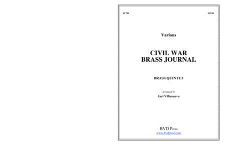 Civil War Brass Journal