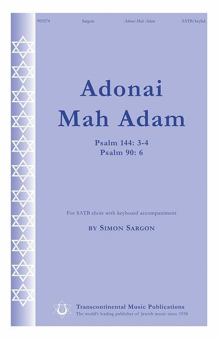 Adonai Mah Adam