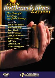 Great Bottleneck Blues Lessons - DVD
