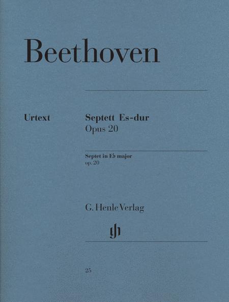 Septet in E flat major op. 20