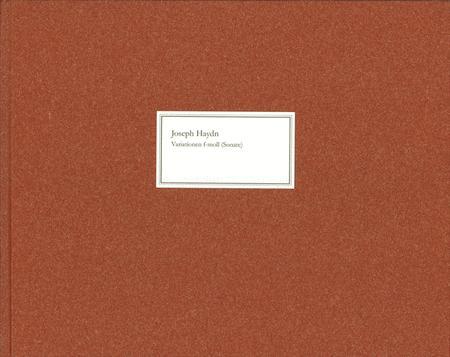 Variations F Minor (Sonata) Hob. xvii: 6