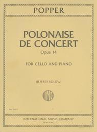 Polonaise de Concert, Opus 14