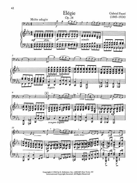 The Cello Collection - Intermediate to Advanced Level sheet music