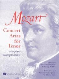 Concert Arias for Tenor