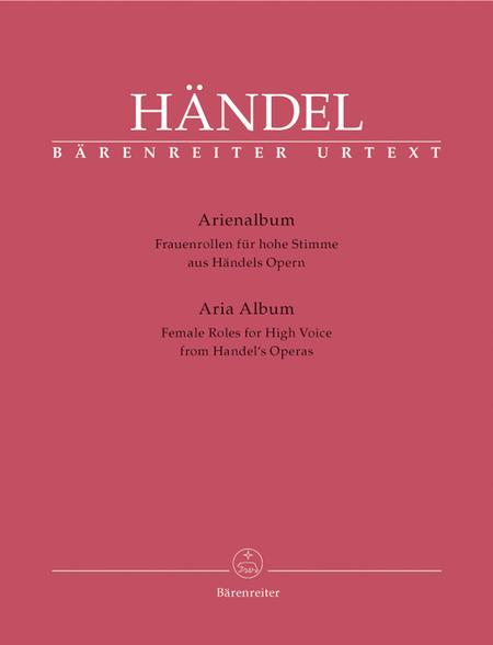 Arienalbum aus Handels Opern