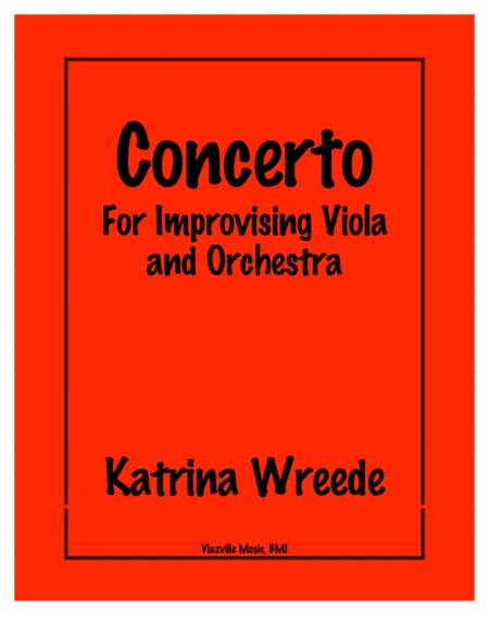 Concerto for Improvising Viola and Orchestra