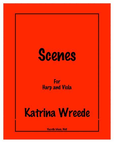 Scenes for Harp and Viola