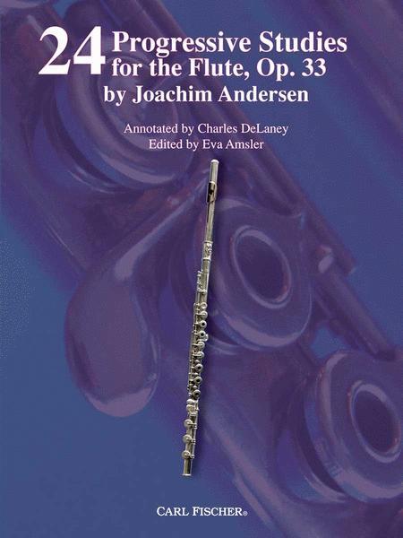24 Progressive Studies for the Flute, Op. 33