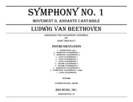 Sym. No. 1, Andante Cantabile
