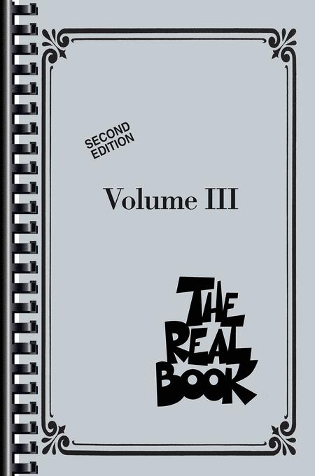 The Real Book - Volume III - Second Edition - Mini Edition