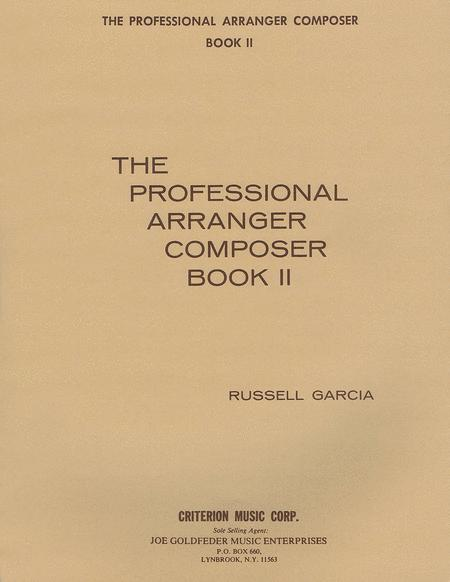 The Professional Arranger Composer - Book 2