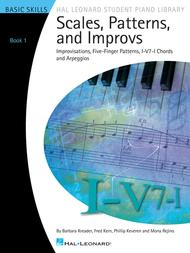 Scales, Patterns and Improvs - Book 1