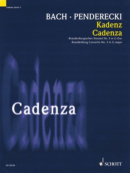 Cadenza - Brandenburg Concerto No. 3 in G Major