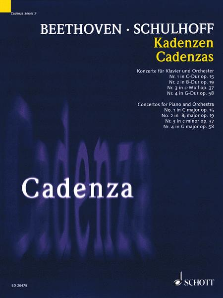 Cadenzas - Concertos for Piano and Orchestra, Nos. 1-4
