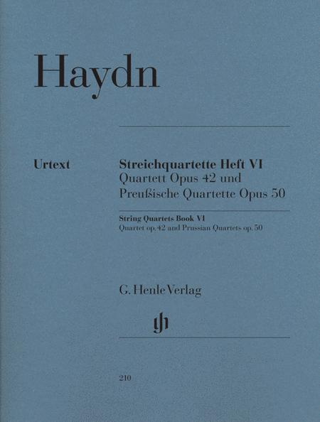 String Quartets, Vol. VI, Op.42 and Op.50 (Prussian Quartets)