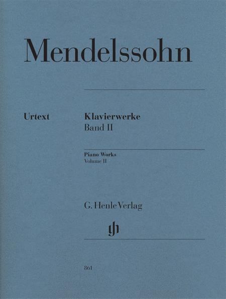Selected Piano Works Vol. 2 Band 2