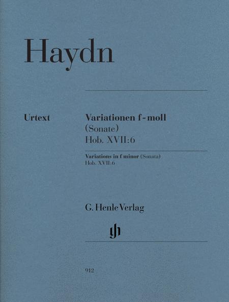 Variations in F minor (Sonata), Hob.XVII:6