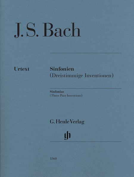 Sinfonias (Three Part Inventions) BWV 787-801