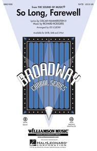 So Long, Farewell - ShowTrax CD
