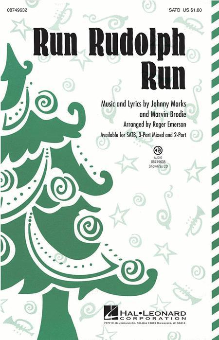 Run Rudolph Run - ShowTrax CD