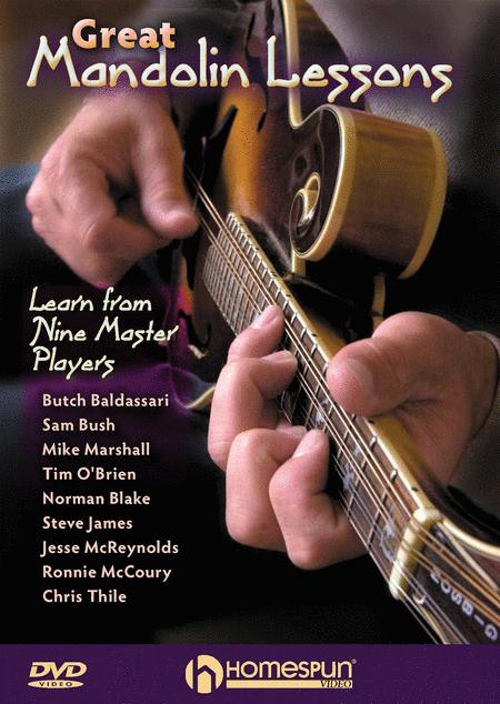Great Mandolin Lessons