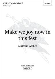 Make We Joy Now in This Fest