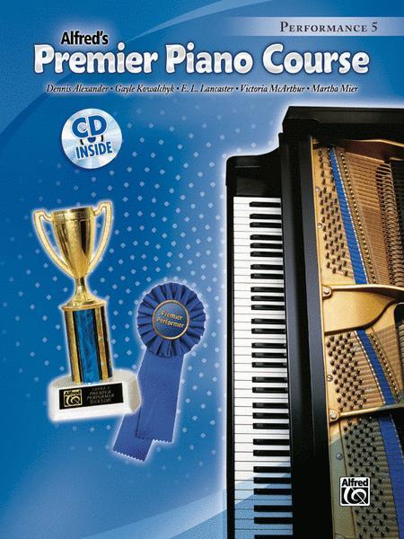 Premier Piano Course Performance, Book 5