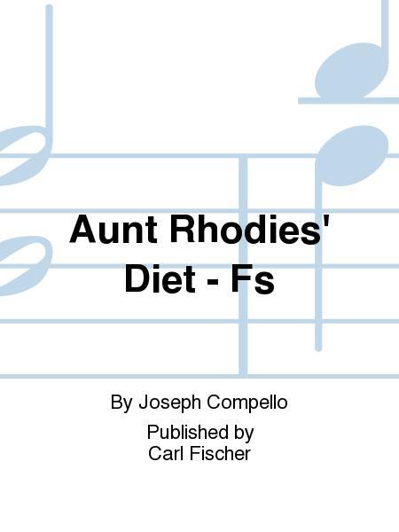 Aunt Rhodie's Diet