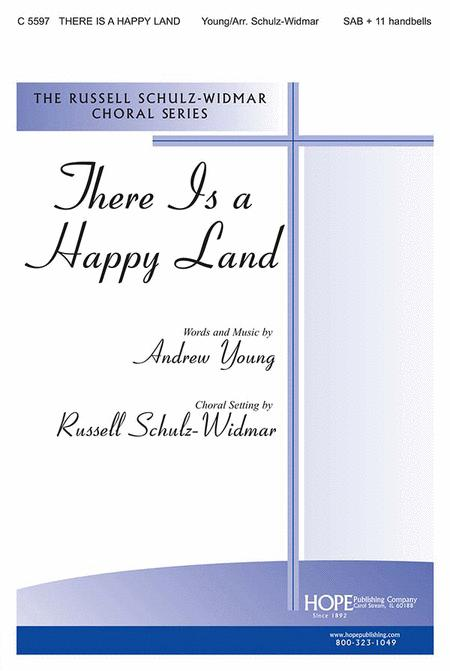 there is a happy land satb with organ accompaniment