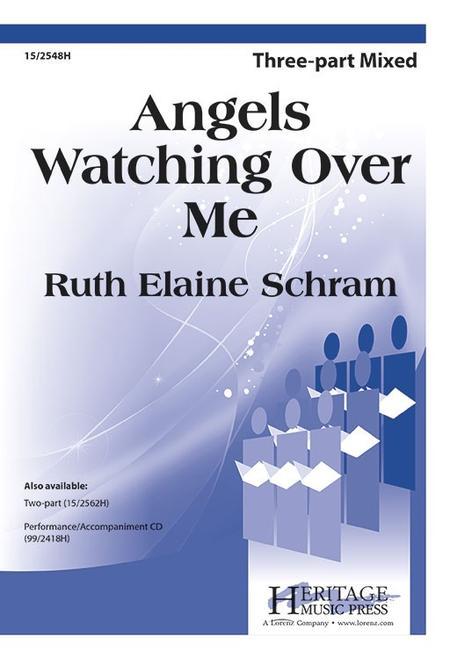 Angels Watching Over Me Sheet Music By Ruth Elaine Schram Sheet