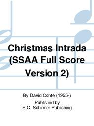 Christmas Intrada (SSAA Full Score Version 2)