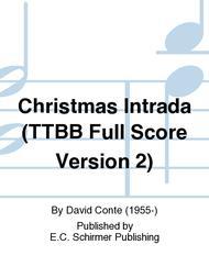 Christmas Intrada (TTBB Full Score Version 2)