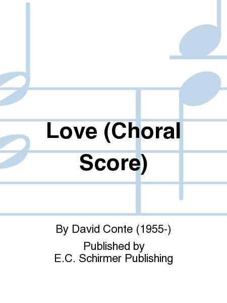 Love (Choral score)