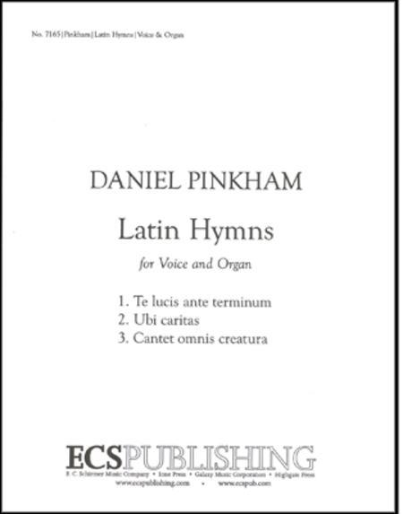 Three Latin Hymns