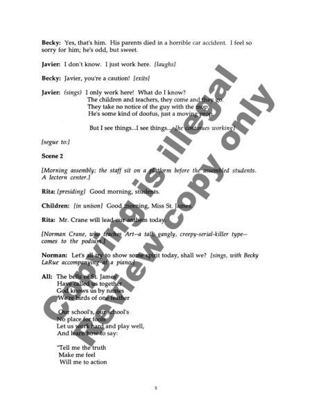 Preview The Passion Of Rita St  James (Libretto) By David Conte (EC