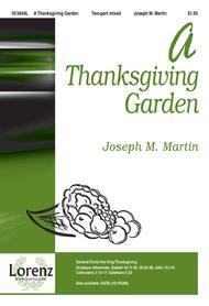 A Thanksgiving Garden