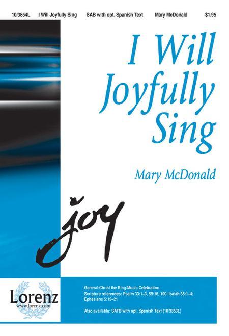 I Will Joyfully Sing